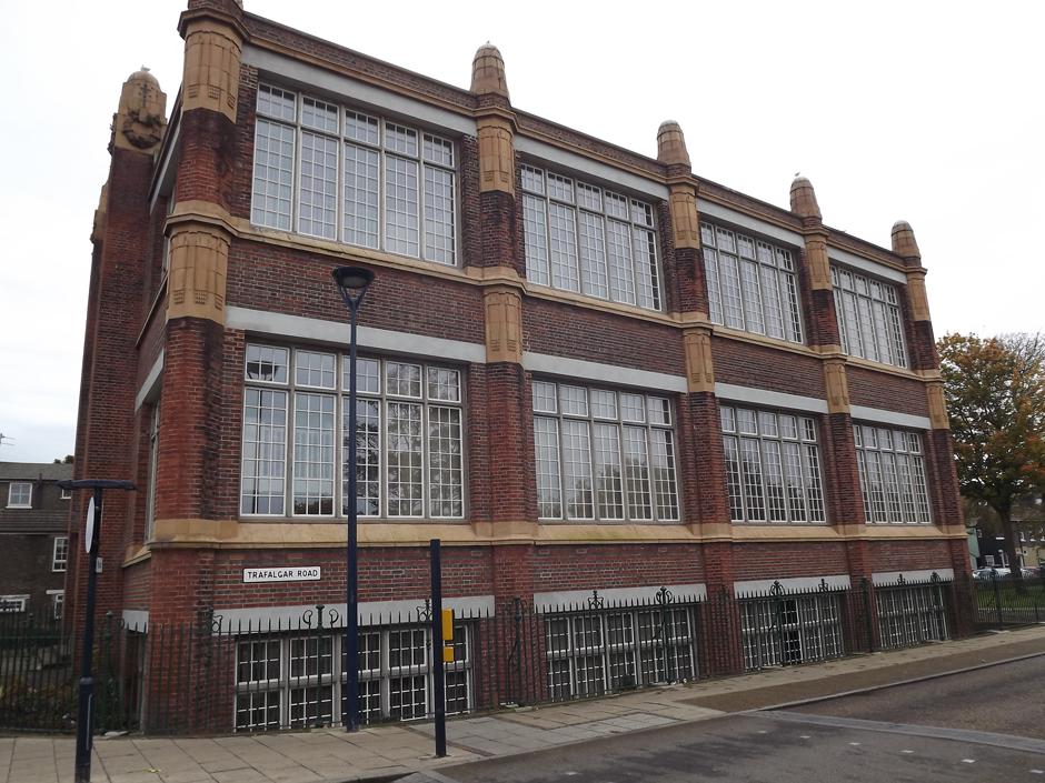 building with big windows