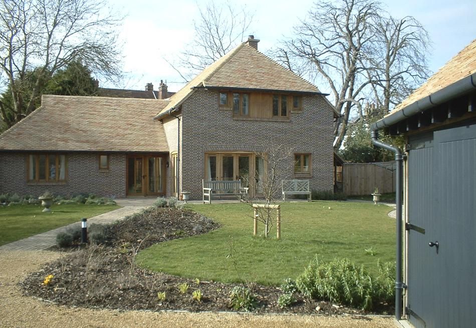 new barn house