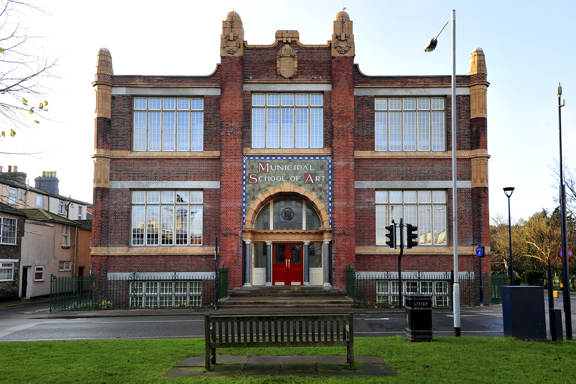 municipal school of art building