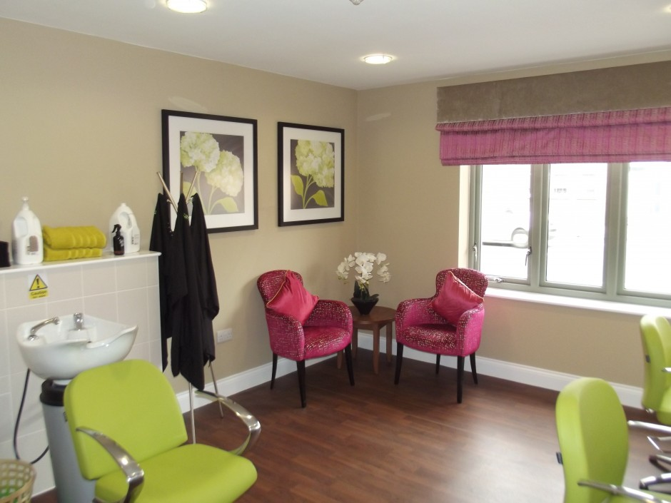 Hair Salon in Extra Care